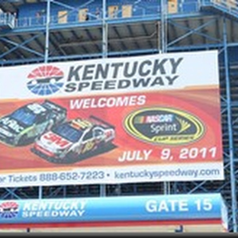 Save the Date: Saturday July 9, 2011: Sprint Cup Series Racing at Kentucky Speedway!