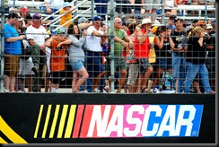 2010 NHMS June NNS race bar logo fans