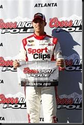 2010 Atlanta2 Sept NSCS pole Denny Hamlin