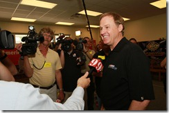 2010 Daytona April NASCAR Day Rusty Wallace media