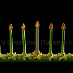 Quilled Hanukkah Menorah