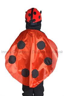Ladybug costume wings