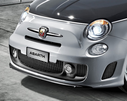 that the 500 Abarth is an