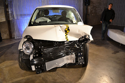 Fiat 500 Crash Test Car