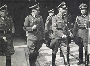 Himmler y Werner von Braun