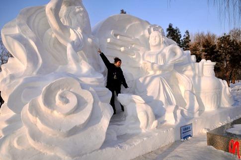 esculturas neve lindas gelo inverno arte (36)