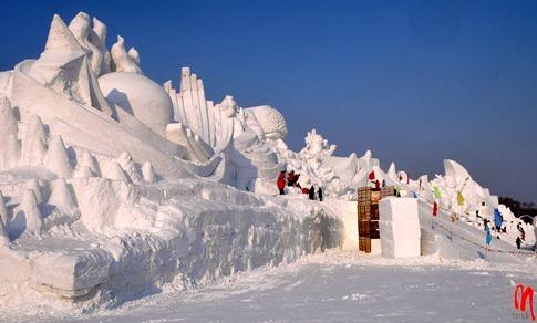 esculturas neve lindas gelo inverno arte (38)