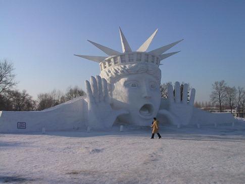 esculturas neve lindas gelo inverno arte (9)