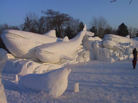 esculturas neve lindas gelo inverno arte (10)