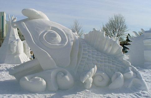 esculturas neve lindas gelo inverno arte (13)