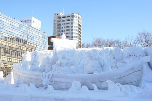 esculturas neve lindas gelo inverno arte (29)