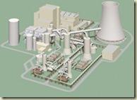 Siemens und E.ON bauen eine Pilotanlage zur Abscheidung von Kohlendioxid (CO2). In der Anlage am Kohlekraftwerk Staudinger bei Hanau sollen rund 90 Prozent des CO2 aus einem Teilstrom der Kraftwerksabgase herausgewaschen werden. Die Anlage wird im Sommer 2009 in Betrieb gehen. Mit dem speziellen CO2-Waschprozess von Siemens verbraucht die Abscheidung des Treibhausgases vergleichsweise wenig Energie und belastet die Umwelt nicht. Die Technik wurde bereits im Labor erprobt und eignet sich auch für die Nachrüstung konventioneller Kraftwerke. Das Bild zeigt eine Grafik der Pilotanlage.