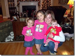Aunt B and girls