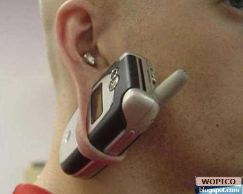 Ear Phone Holder