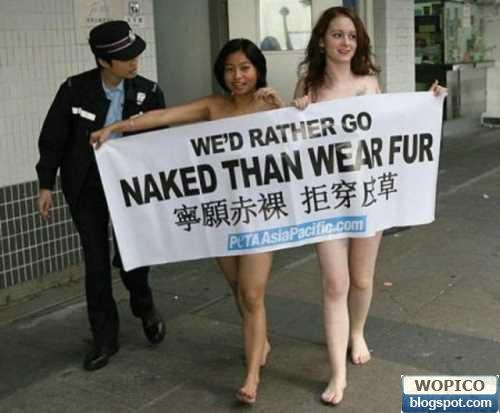 Sexy Demonstrant