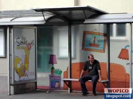 Unique Bus Stop