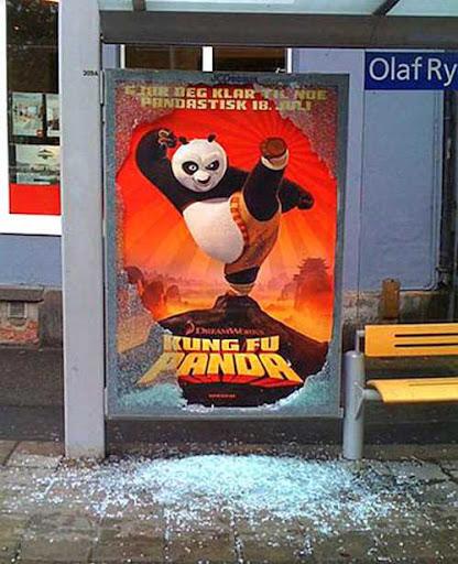 Kungfu Panda Vandalism