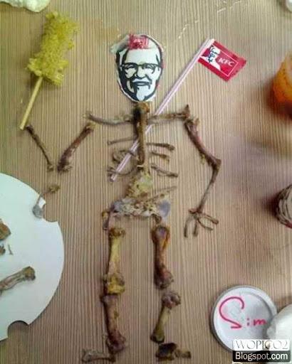 Colonel Sanders Bones