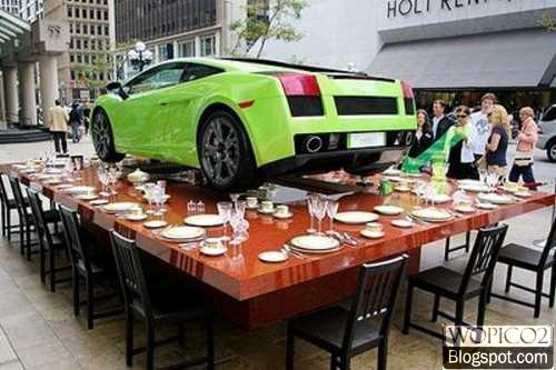 Dine With Lamborghini