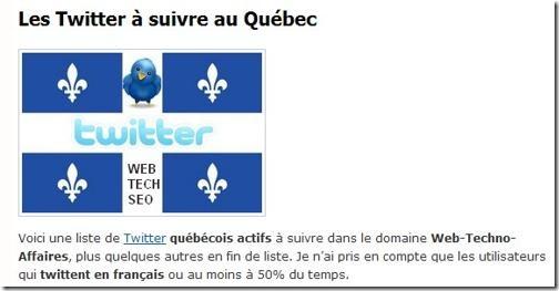 Image - Les Twitter à suivre au Québec