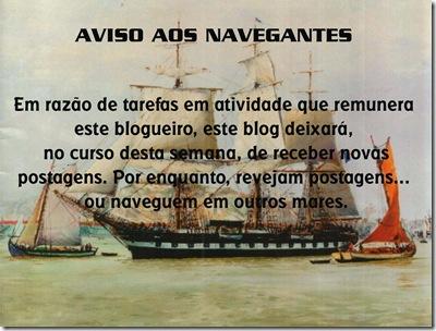 aviso aos navegantes