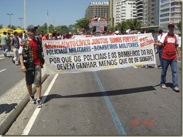 Segunda caminhada pela PEC300-2008 em 27-09-2009 em Copacabana 041