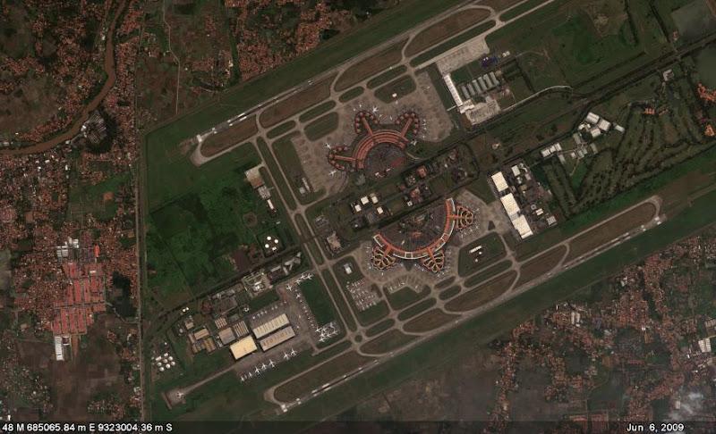 Foto Citra Satelit Citra Satelit Geoeye-1 Tahun