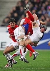 France v Wales (tackle)