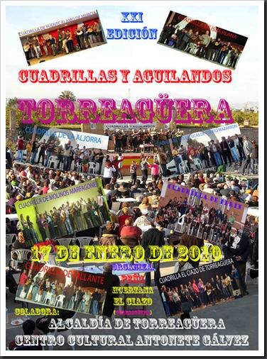 Cartel de Torreagüera 2010 Medios
