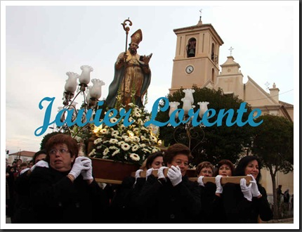 Javier Lorente. Procesión San Fulgencio