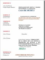 PROGRAMA DE FIESTAS PATRONALES 2008-2