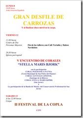 PROGRAMA DE FIESTAS PATRONALES 2008-9