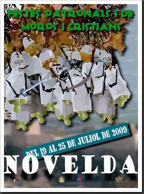 Cartel Novelda