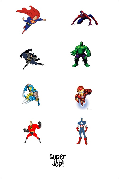 superhero magnets