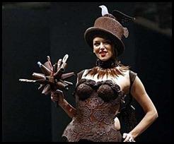 chocolate-corset