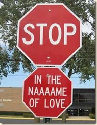 heart stop sign