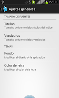 Screenshot of Santa Biblia RV1960 v2.0