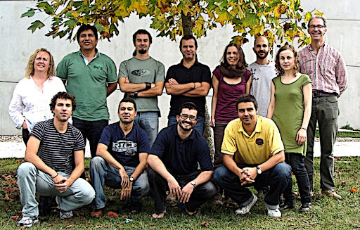 XB5 labmates at University of Vigo