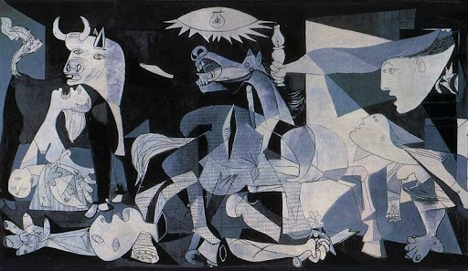 in 1901  pablo picassos first