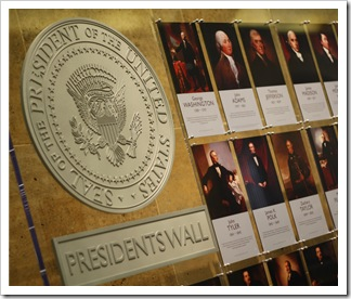 wall of pres