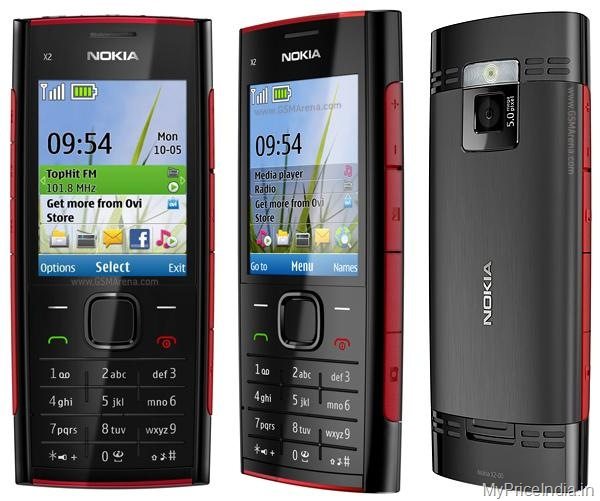 Nokia X2 Price in India