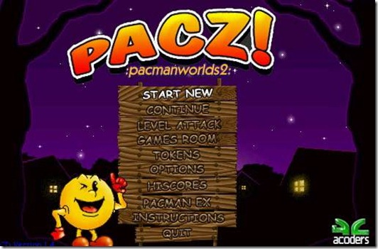 PacZ Pacman World 2 - freeware game_img (1)
