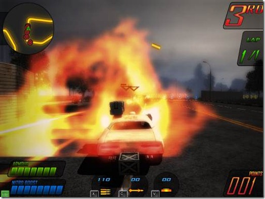 Deadly Race freeware game (4)