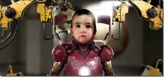 Iron Baby Parody