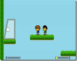 Jumping Soccer freeware game (4)