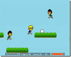 Jumping Soccer freeware game (2)