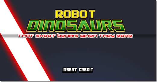 robot dinosaurs flash game