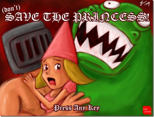 dont save the princess