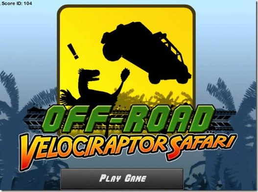 Off Road Velociraptor Safari