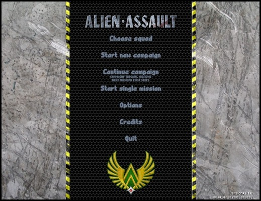 Alien Assualt freeware game_